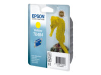 Epson T0484 - 13 ml - yellow - original - blister - ink cartridge - for Stylu...