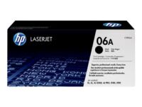 HP 06A - Black - original - LaserJet - toner cartridge (C3906A) - for LaserJe...