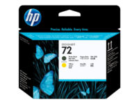 HP 72 - Yellow, matte black - printhead - for DesignJet HD Pro MFP, SD Pro MF...