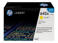 HP 642A - Yellow - original - LaserJet - toner cartridge (CB402A) - for Color...