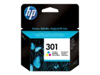 HP 301 - Colour (cyan, magenta, yellow) - original - ink cartridge - for Desk...