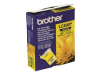 Brother LC800Y - Yellow - original - ink cartridge - for Brother MFC-3220C, M...