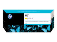 HP 91 - 775 ml - yellow - original - DesignJet - ink cartridge - for DesignJe...