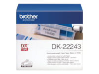 Brother DK-22243 - Paper - black on white - Roll (10.2 cm x 30.5 m) 1 roll(s)...