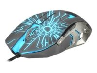 FURY Gladiator - Mouse - optical - 6 buttons - wired - USB 2.0