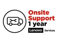 Lenovo Onsite Upgrade - Extended service agreement - parts and labour (for sy...