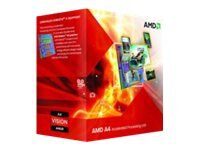 AMD A4 6300 - 3.7 GHz - 2 cores - 1 MB cache - Socket FM2 - Box