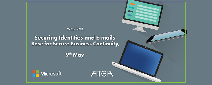 Webinar: Securing Identities and E-mails – Base for Secure Business Continuity